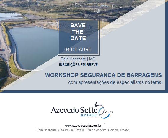 Workshop: Segurança de Barragens